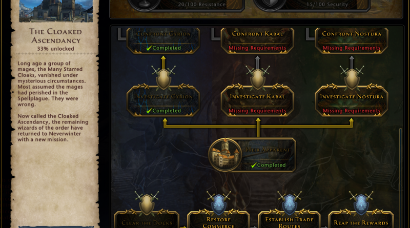The Cloaked Ascendancy Campaign is all About Choices